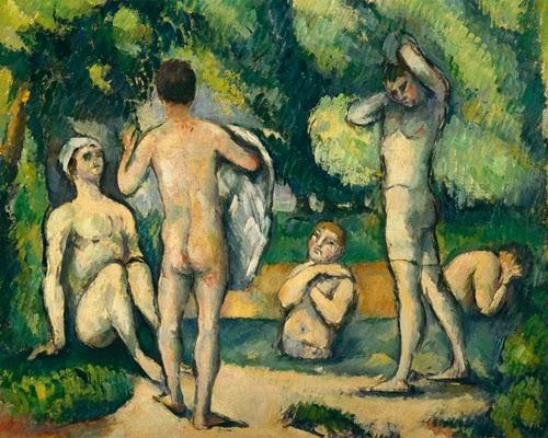 Cézanne. Site / non-Site.