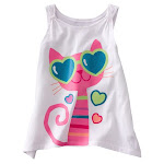 Jumping Beans Girl&#39;s Singlet