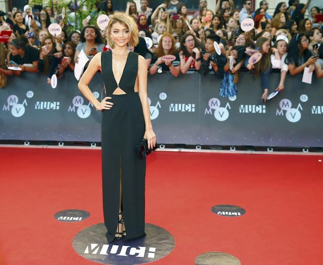 Actress @ Sarah Hyland 2015 Muchmusic Video Awards In Toronto