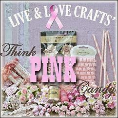Live & Love Crafts Pink Candy slutter 31/10