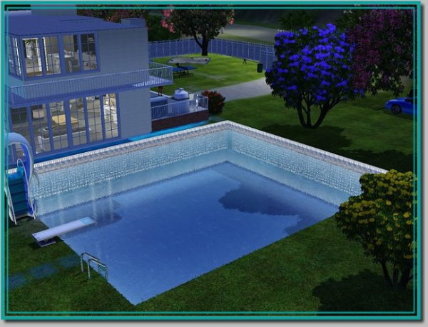 My sims 3 blog new pool lights by kyrah for Pool design sims 3