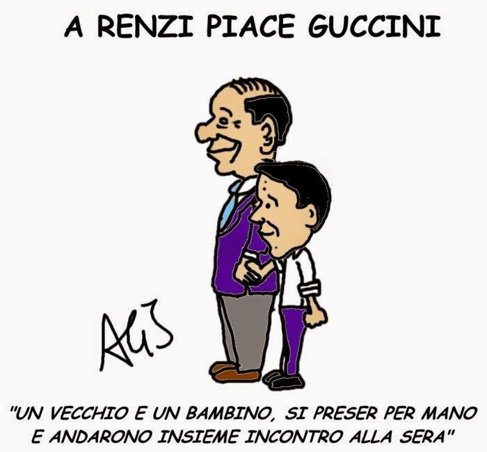 Renzi, Berlusconi