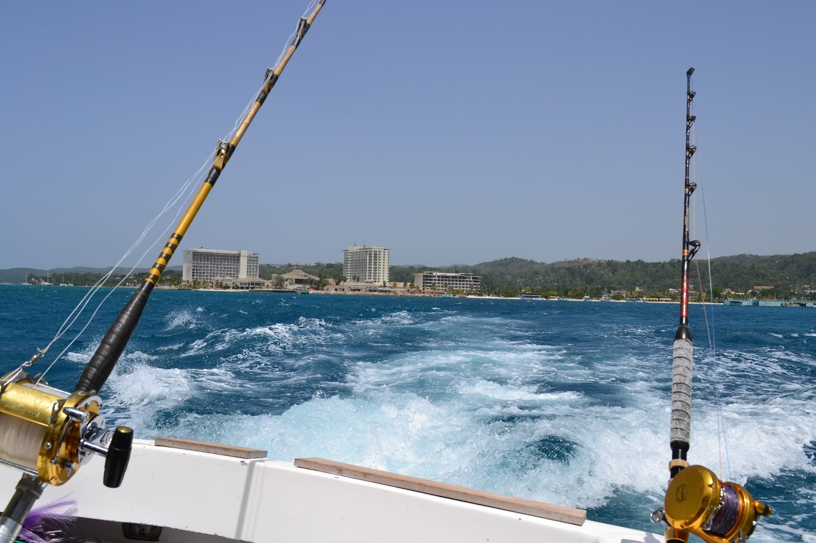 Jamaica deep sea fishing well worn suitcase for Deep sea fishing jamaica