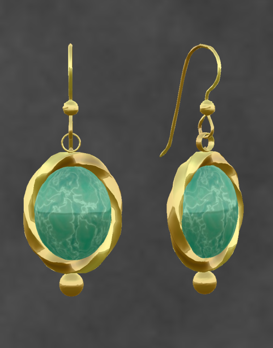 Elemental Jewelry With Substance Her Style Is Vintage Gold Jade