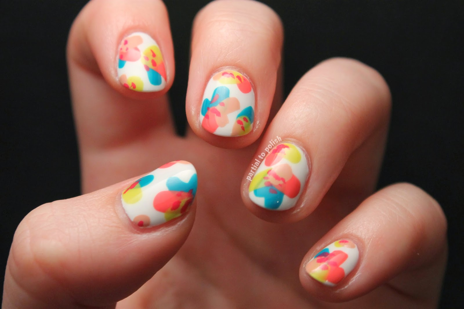 MrCandiipants Spring Floral Nail Art