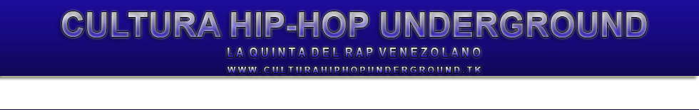 Cultura Hip-Hop Underground