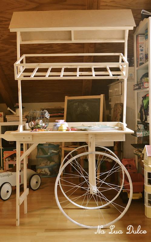Los carritos y yo na lua dulce for Carrito bar de madera