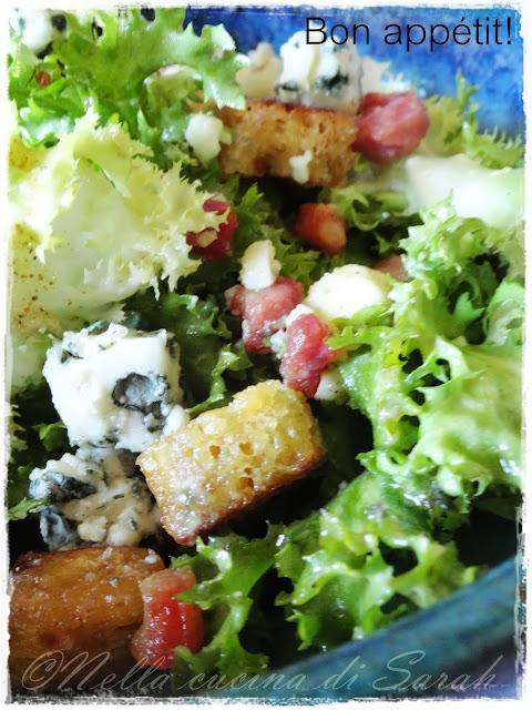 smoked salad e salade au roquefort