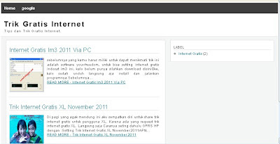 Download Template SEO Friendly blogspot 2012