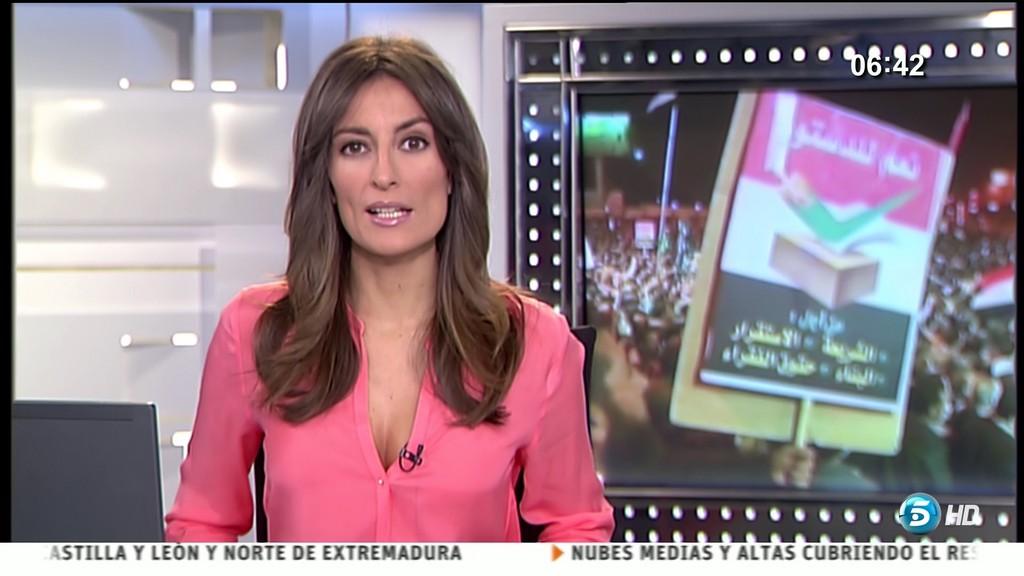 LETICIA IGLESIAS, INFORMATIVOS TELECINCO (12.12.12) (RESUBIDO)