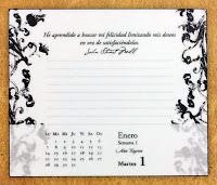 Calendario Descubre el secreto de la felicidad