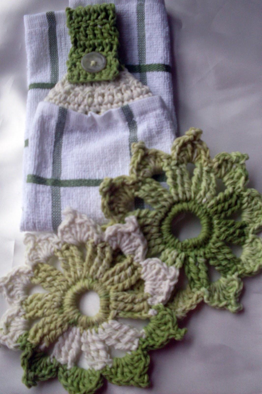 Crafty Leslies Blog: More Crochet Kitchen Items - Free Pattern!