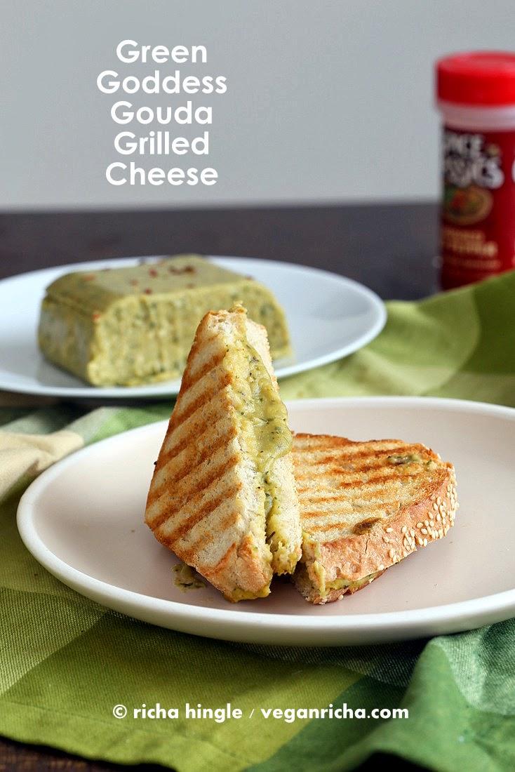 green goddess gouda cheese and vegan st. patrick's day round up.