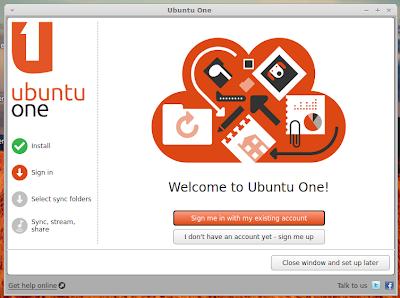 Install ubuntuone di linuxmint 13