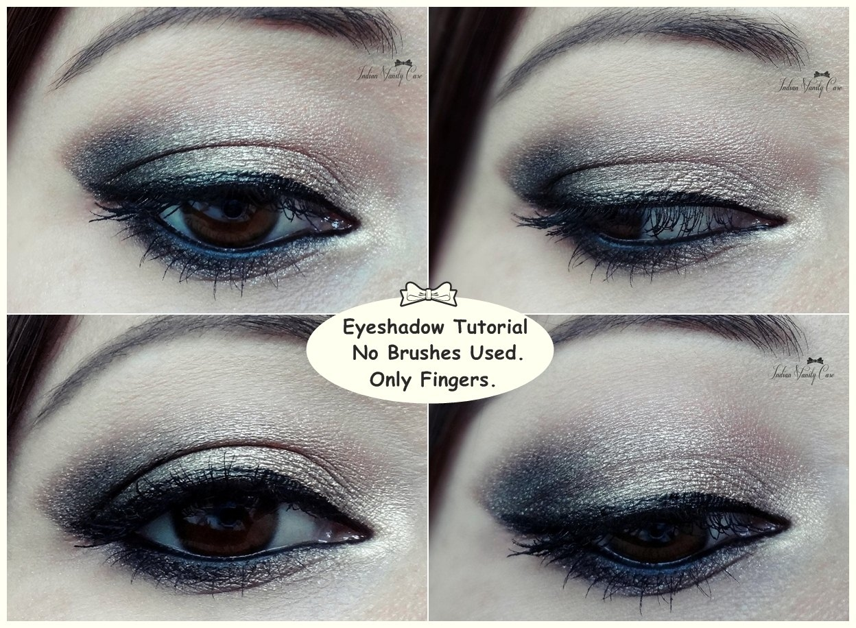 Tutorial: Eyeshadow Application Using Only Fingers