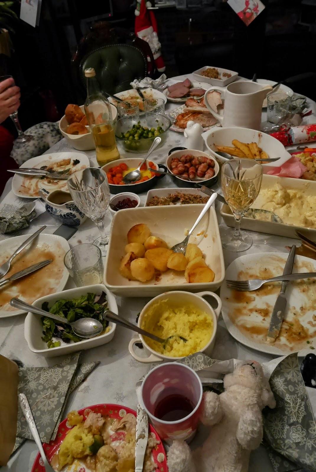 Christmas dinner left overs