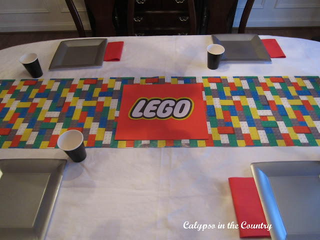 Lego Table Setting