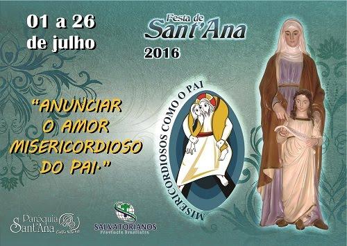 BANNER DO FESTEJO DE SANT'ANA 2016