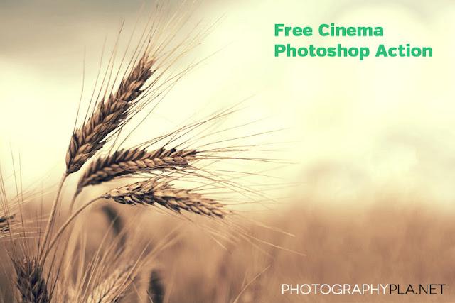 Cinema Photoshop Action