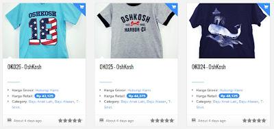 Belanjagrosir.com, Onlineshop Baju Anak Branded