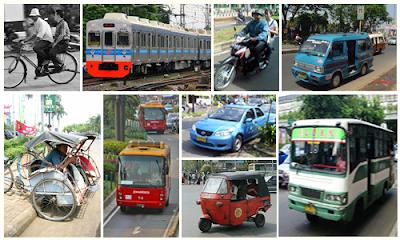 Nama Alat Transportasi Dalam Bahasa Inggris