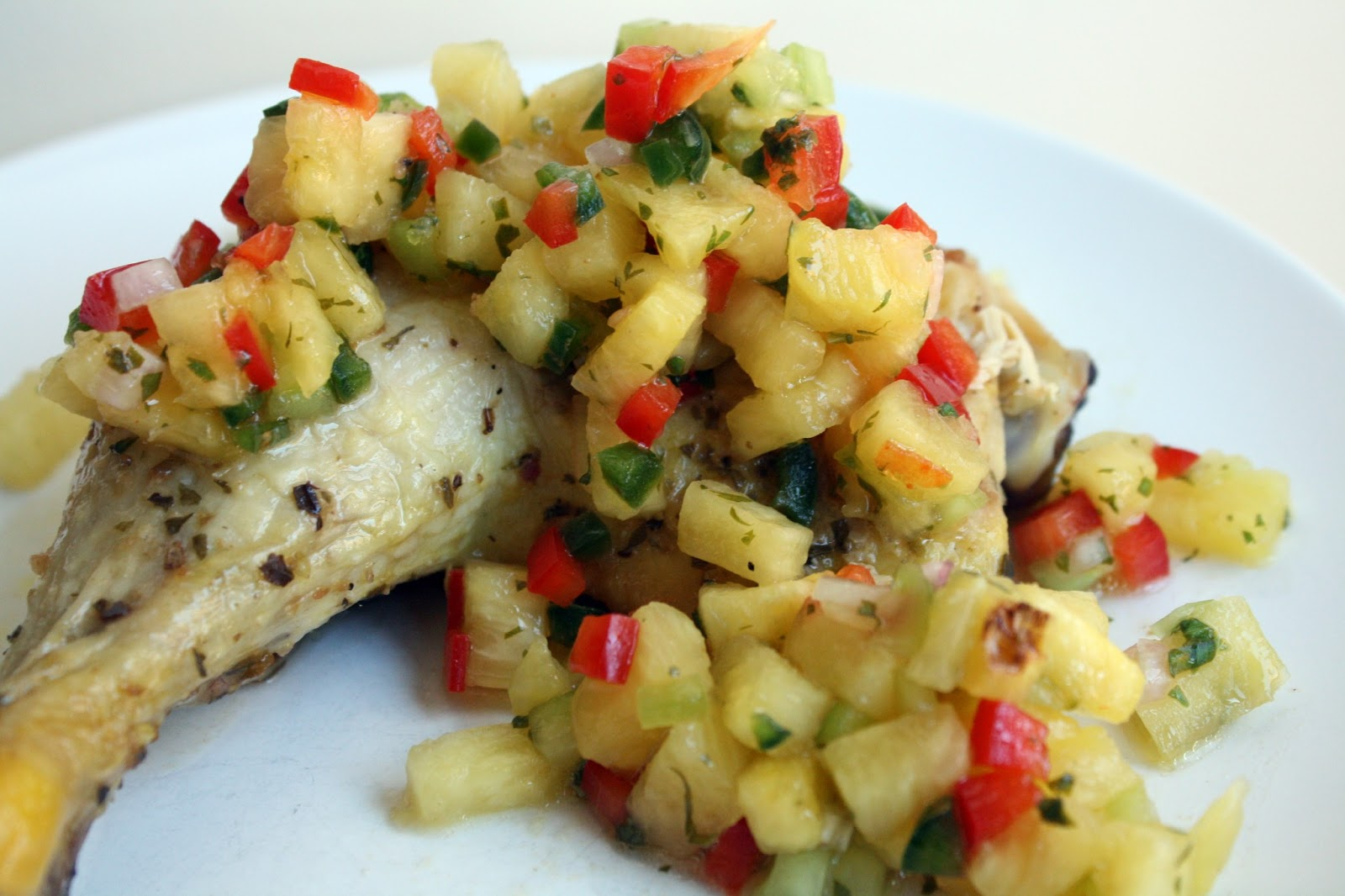 Make-Meals Mama: Spicy Pineapple Salsa