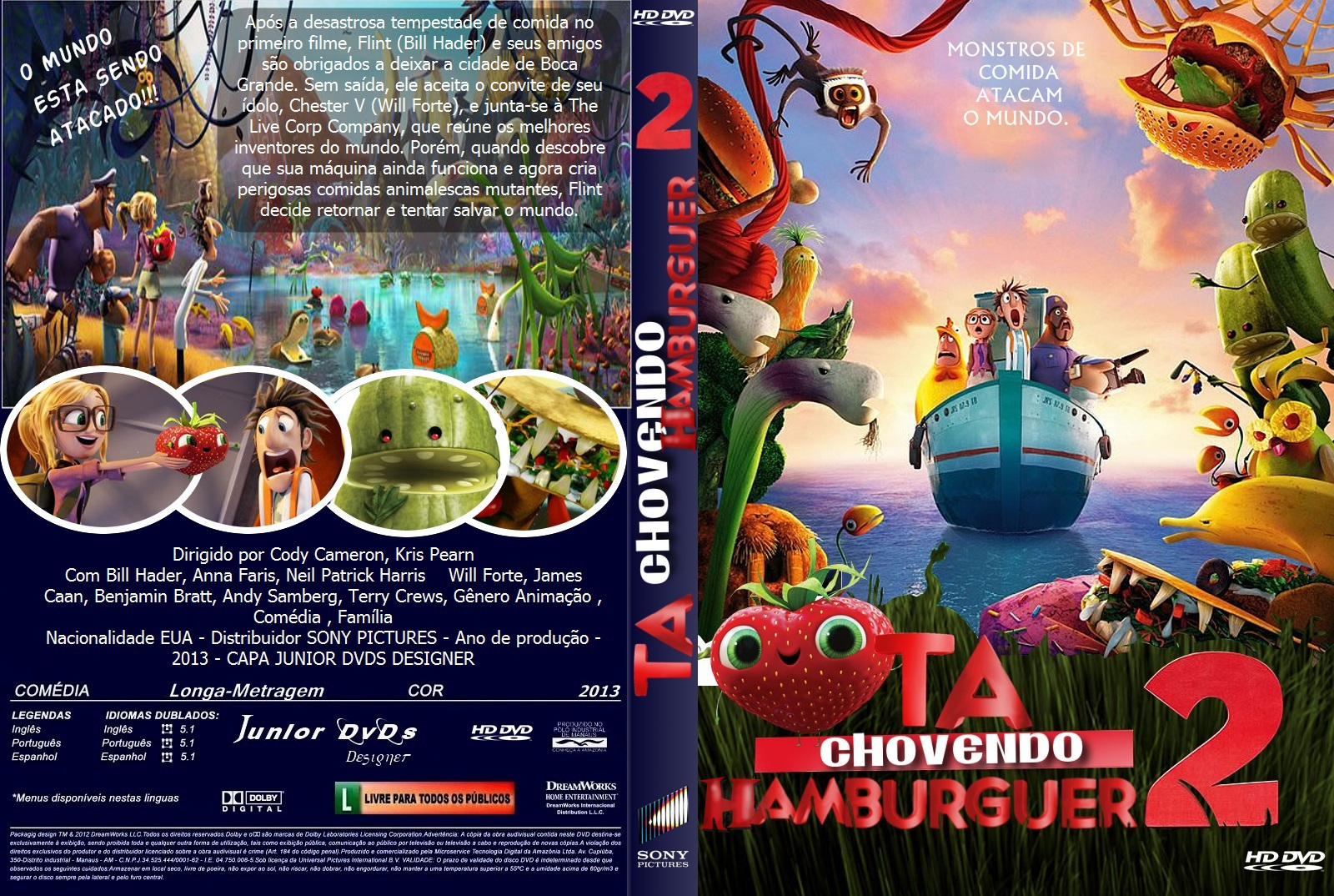 Filme Ta Chovendo Hamburguer Dublado Completo pertaining to tá chovendo hambúrguer 2 ts xvid e rmvb dublado - xandao download™