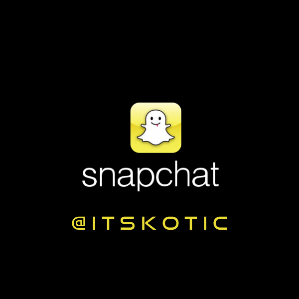 Snapchat logo itsKOTIC K-OTIC image