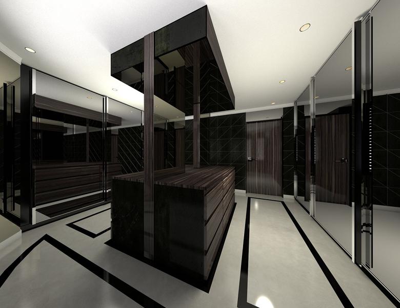 Designer Laura Mccree Master Dressing Room Interior