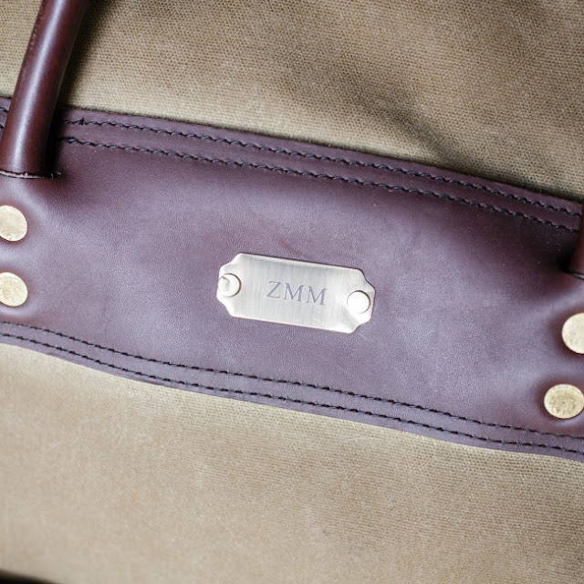 Over Under Clothing: The Wax Sporting Duffle Made in U.SA Bag