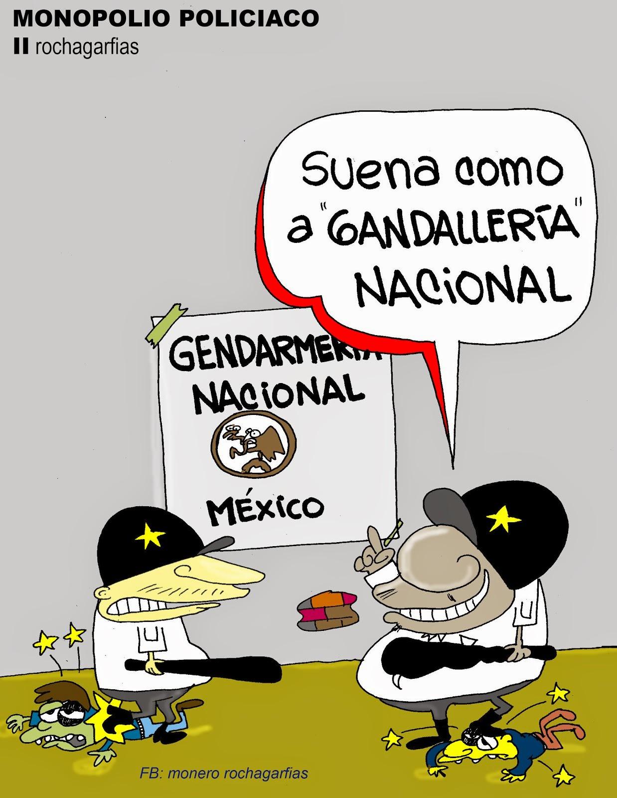 México. Monopolio policiaco.