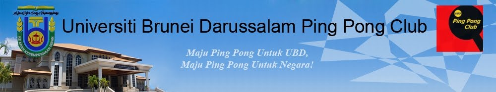Universiti Brunei Darussalam Ping Pong Club