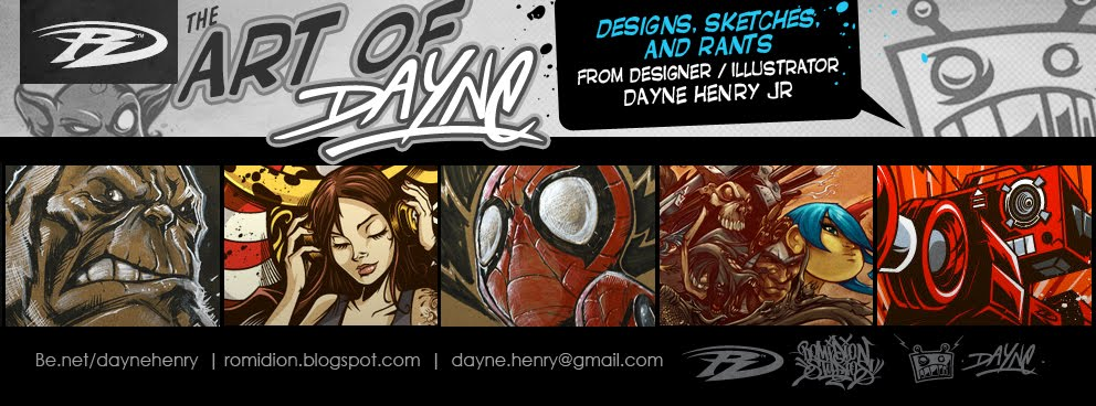 ROMIDION™ The Art of Dayne Henry Jr