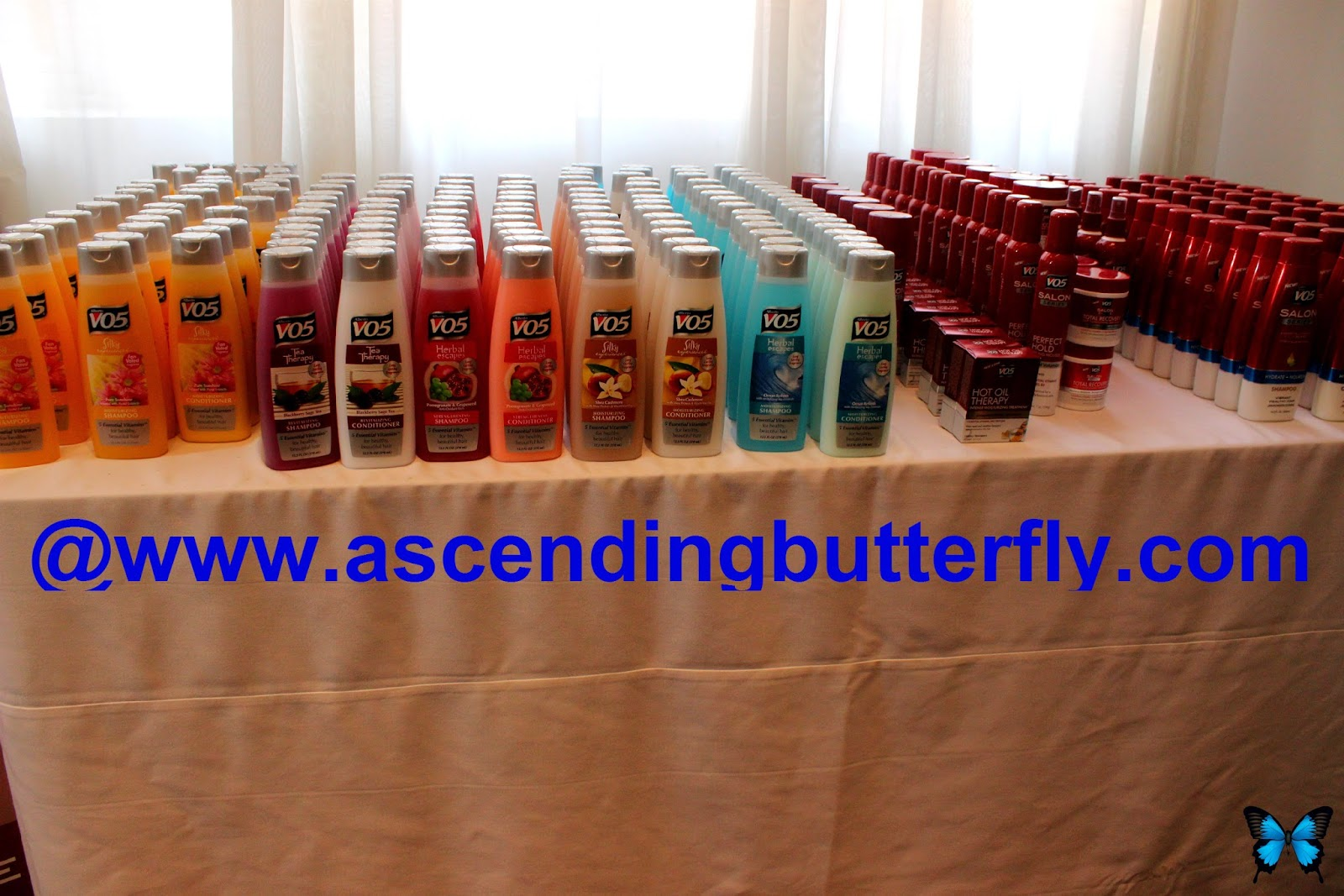 Alberto V05 Products on Display at Getting Gorgeous 2014