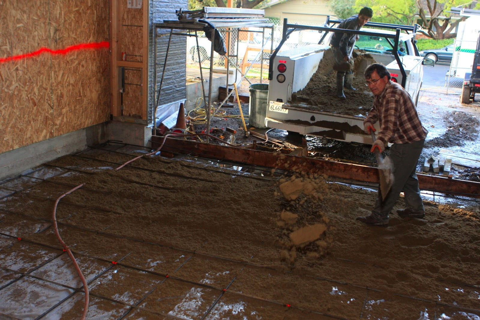 Homecrunch how to build a better garage floor that for In ground garage