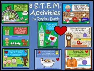 http://www.teacherspayteachers.com/Product/A-8-Compiled-STEM-ActivitiesScience-Technology-Engineering-Math-826913