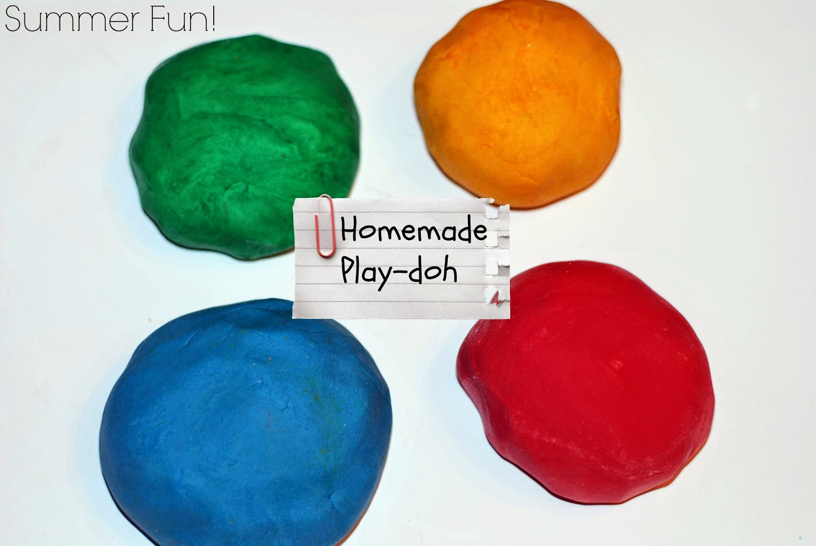 Homemade Play-Doh | Aunt Bee's Recipes