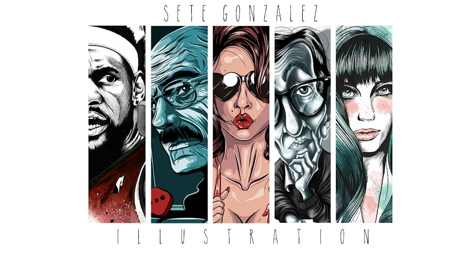Sete Gonzalez - Illustration
