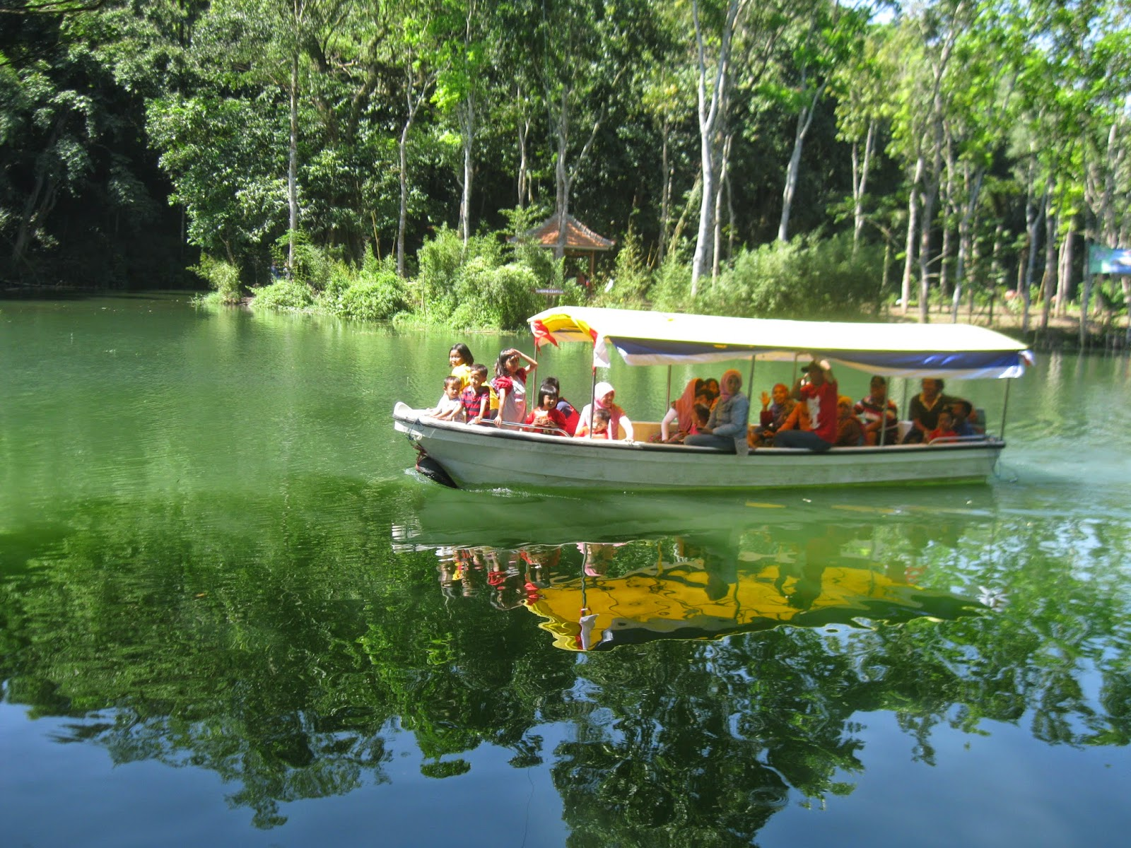 Boon Pring Sanankerto Malang, Wisata Bambu yang Adem di Hati
