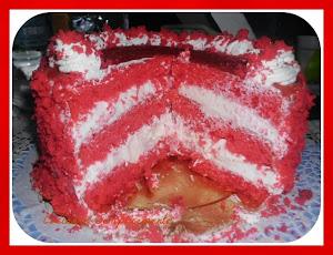 La mia red cake