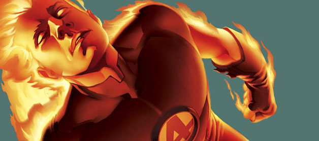 Human Torch (Marvel Comics) Character Review - 1