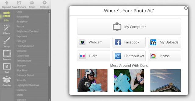 BeFunky programa para editar fotos online