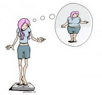 distorção da imagem corporal