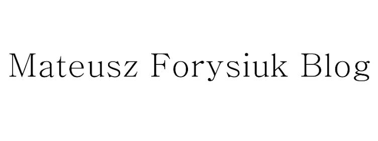 Mateusz Forysiuk