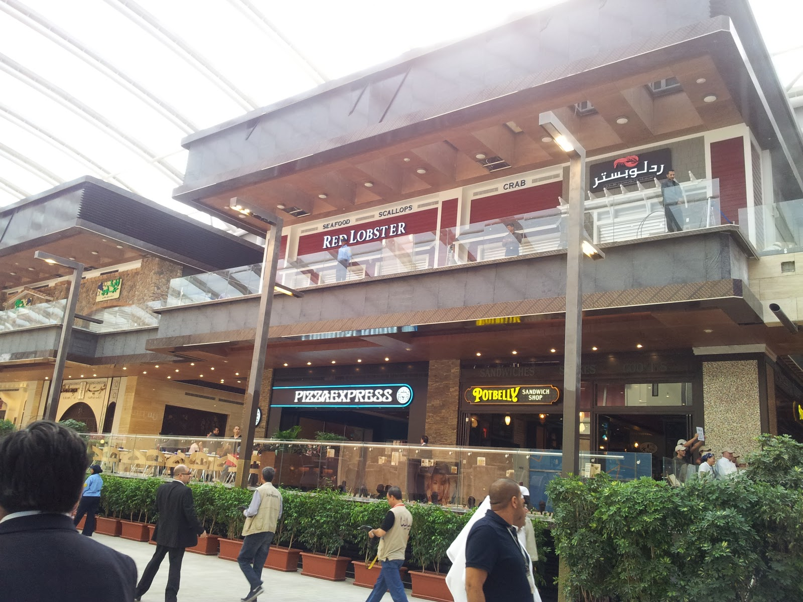 New Phase Open At The Avenues Including The Cheesecake Factory Red Lobster And Olive Garden