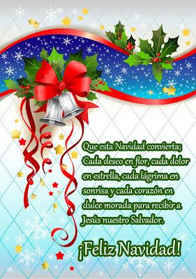 Postales navideñas con mensajes para compartir