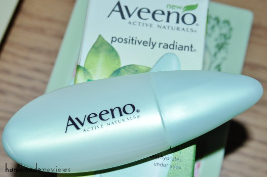 Aveeno Positively Radiant Eye Illuminator Review