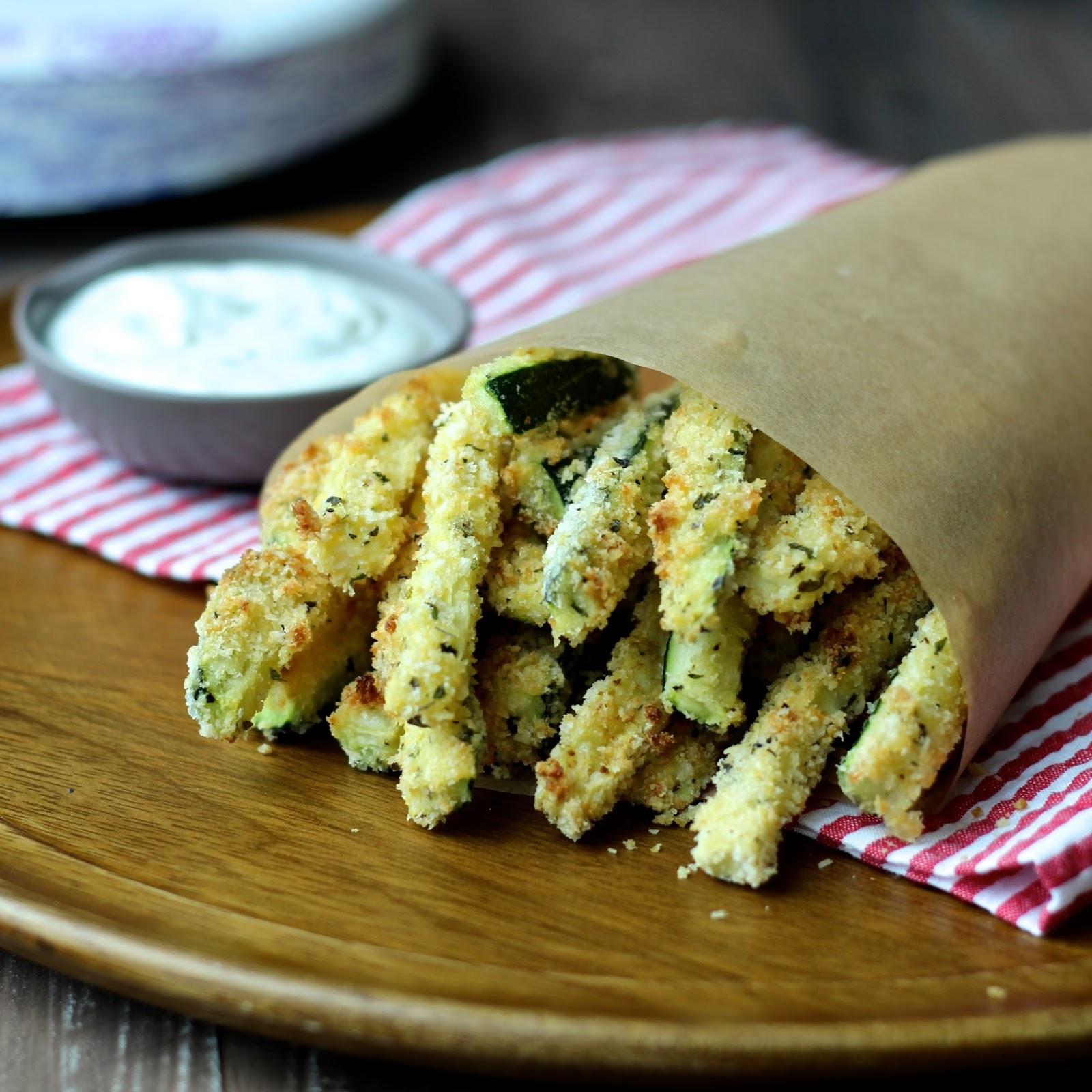 Cooking with SiennaCrispy Baked Zucchini FriesThe Foodie