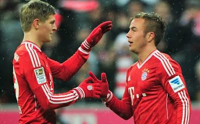 Xem lại đầy đủ trận Bayern Munich vs Hamburg