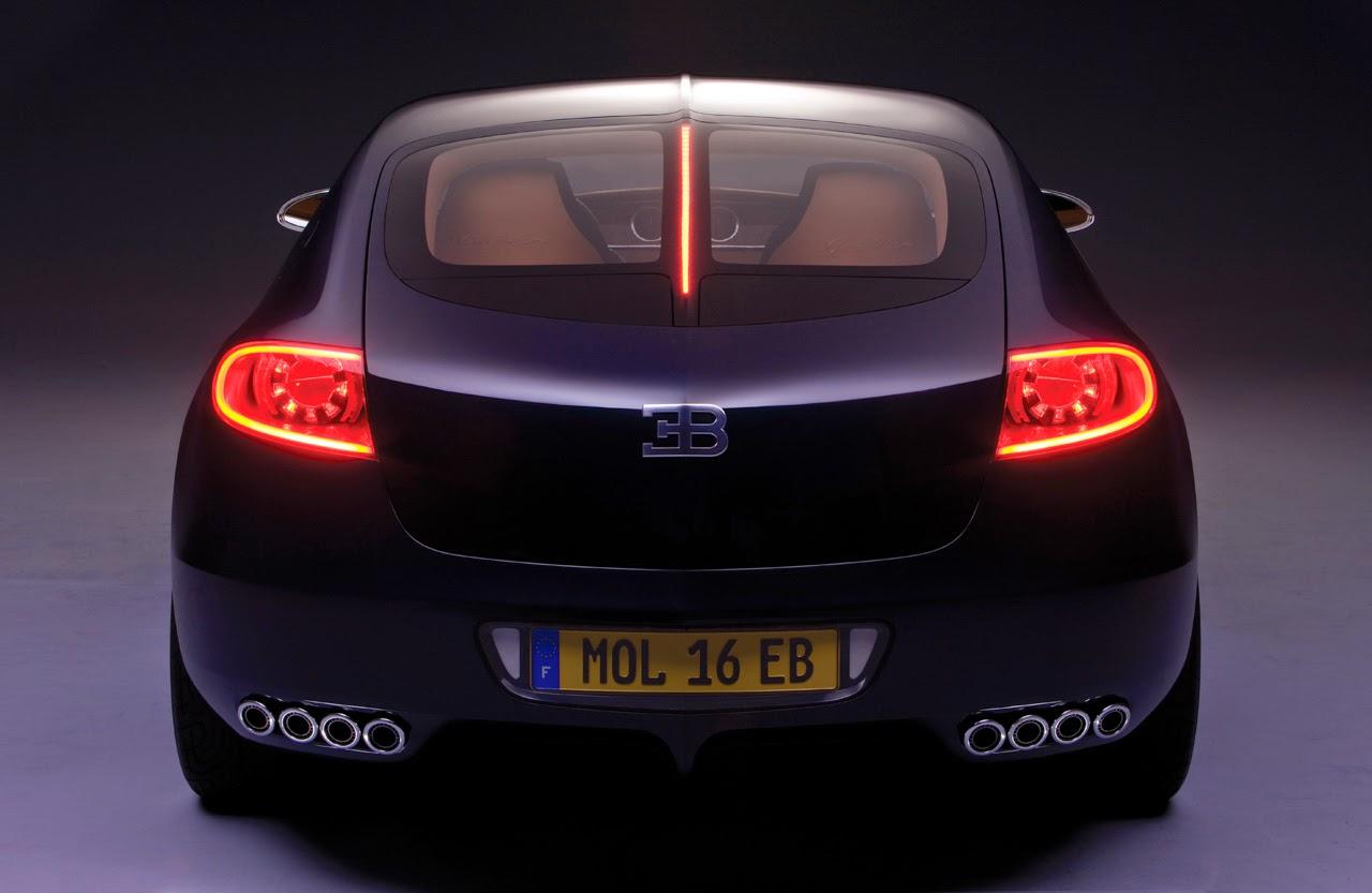 Bugatti Galibier Back View Image